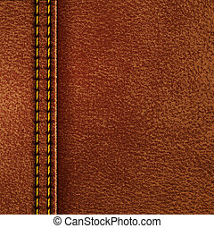 Leather texture. Vector eps10 illustration