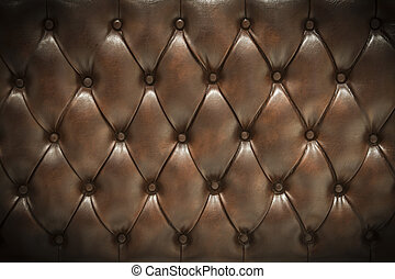 Leather upholstery background
