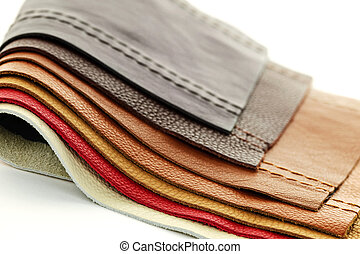 Leather upholstery samples - Natural leather upholstery ...