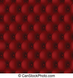 Leather upholstery - Luxury background of a red leather...