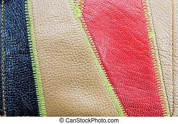 leatherette, textuur, achtergrond