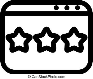 leave a tip icon vector. Isolated contour symbol illustration