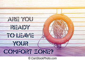 leave comfort zone ask