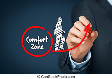 Leave comfort zone - Leave your comfort zone, personal...