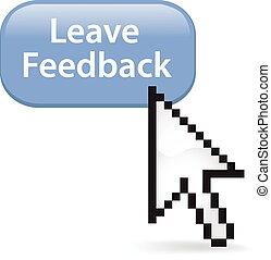 Leave Feedback Button Click