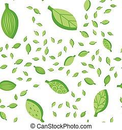 Leaves Fall Seamless Pattern
