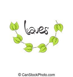 leaves illustration