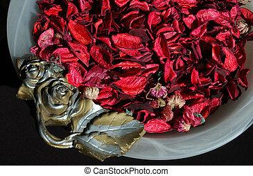 Leaves in a vase 1