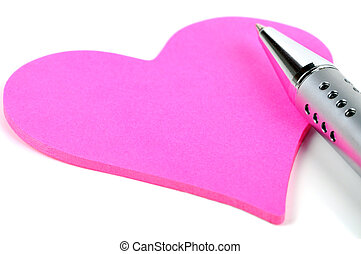 heart on a white background.