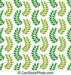 Leaves seamless pattern