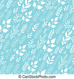 Leaves Silhouettes In the Wind Seamless Pattern background -...