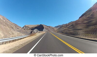 Leaving Death Valley - time-lapse