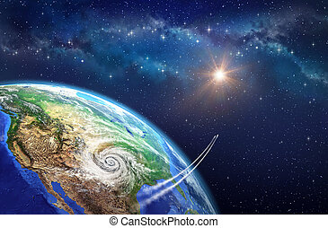 Leaving Earth - Very high definition picture of planet earth...