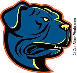 Leavitt Bulldog-HEAD-MASCOT