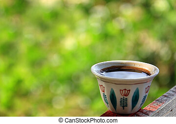 Lebanese Cup of Turkish Coffee