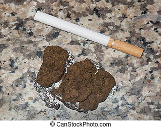 lebanese hashish marijuana cannabis resin in beirut