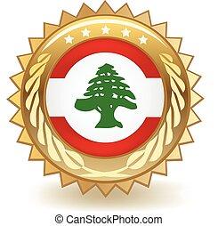 Lebanon Badge