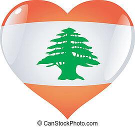 Lebanon in heart