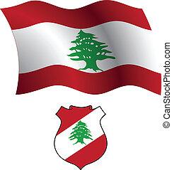 lebanon wavy flag and coat