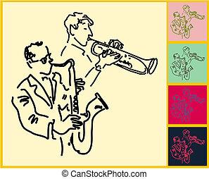 leben, jazz, blues, &