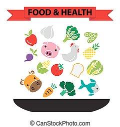 lebensmittel, gesunde, ernährung