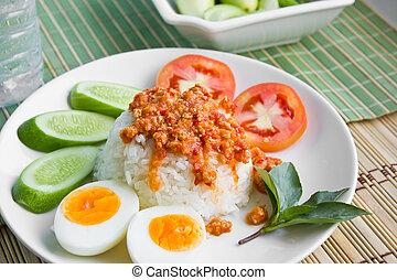 lebensmittel, südöstlich asiat