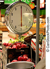 lebensmittelgeschäft, gewichtsskalenfaktor