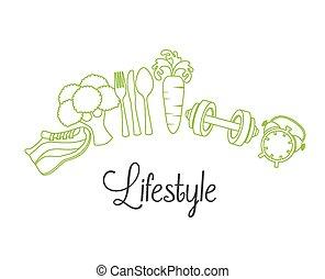 lebensstil, gesunde