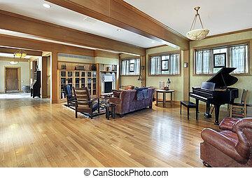 balken decke holz zimmer familie decke zimmer stockbild suche fotos und foto clipart. Black Bedroom Furniture Sets. Home Design Ideas