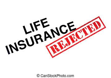 lebensversicherung, abgelehnt