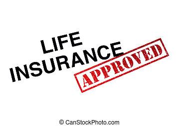 lebensversicherung, genehmigt