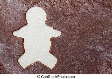lebkuchen mann, hintergrund