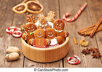 lebkuchen- plätzchen, weihnachten