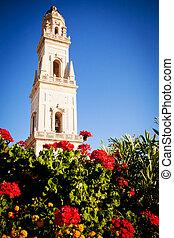lecce, 鐘, イタリア, 大聖堂, タワー