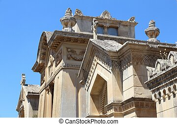 Lecce cemetery - Lecce, Italy - old tombs at Cimitero ...