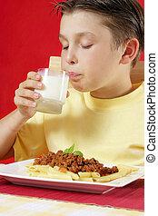 leche de bebida