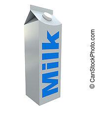 leche, paquete
