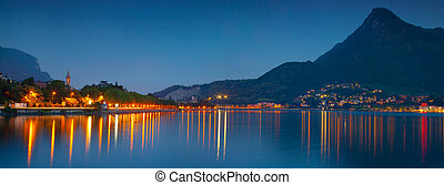 lecoo., nuit, panorama, ville