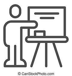 lector, fondo., icon., señalar, educación, concepto, ...