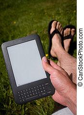 lectura, ebook