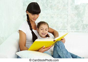 lectura, juntos
