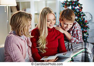 lectura, navidad