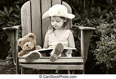 lectura, niño