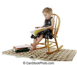 lectura, preschooler
