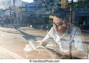 lecture, bon, really, livre, habitude
