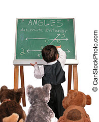 Lecture On Angles - Class is in session. Today's lesson... ...
