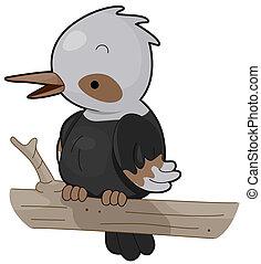 ledňáček, ptáček