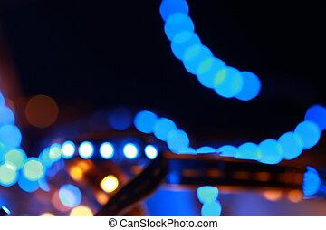led background
