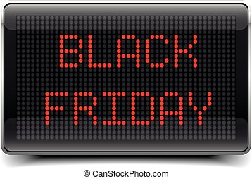LED Board Black Friday