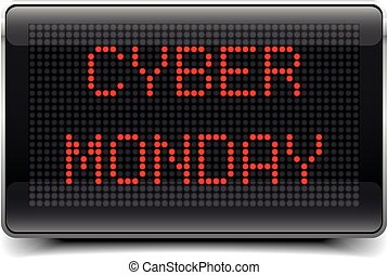 LED Board Cyber Monday